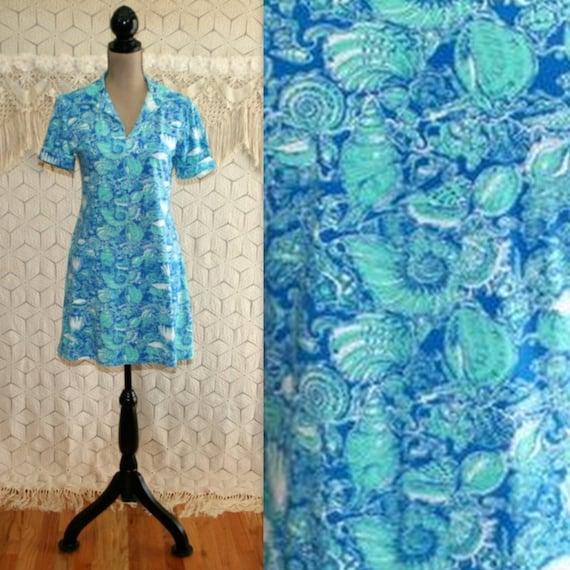 4778e49ddcfe Beach Dress Cotton Knit Dress Casual Summer Dress Sea Shells
