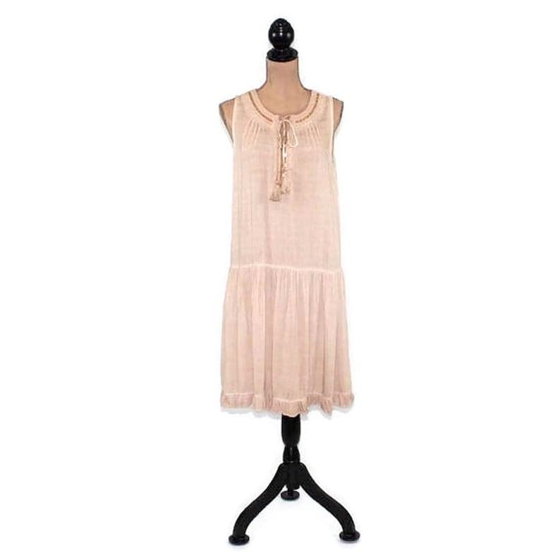 4751a0e6b36 Boho Dress Small Chemise Festival Hippie Clothes 20s Style