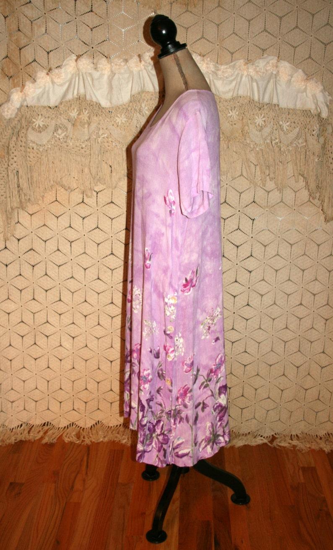 16351e16694ce Short Sleeve Midi Dress Large XL Women La Cera Casual Summer