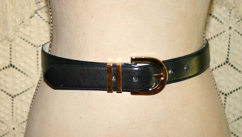 e351a1d813c4 Brown Leather Belt Gold Buckle Brown Belt Womens Belts Small