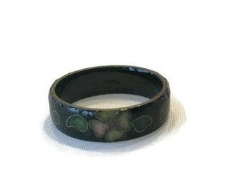 Vintage Cloissone Ring, Costume Jewelry