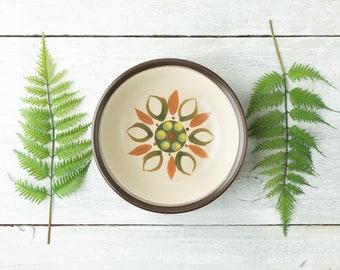 Vintage Nikko Serving Bowl - Colorful Serving Dish - Retro Ceramic Bowl - Colorful Mid Century - Retro Kitchen - Mitani Stoneware