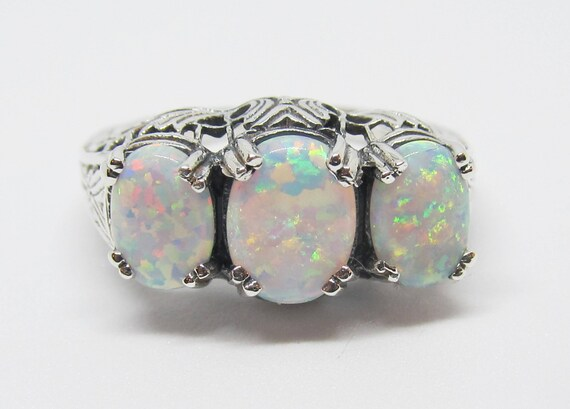 Opal Gemstone Bracelet Sterling Silver  Size 6 to 9  18x13mm Stone