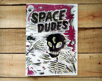 Space Dudes Illustration Zine