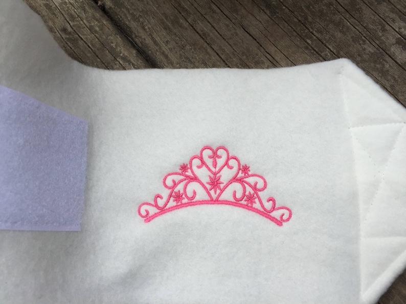 Custom Princess Crown Polo Wraps Horse or Pony Sizes