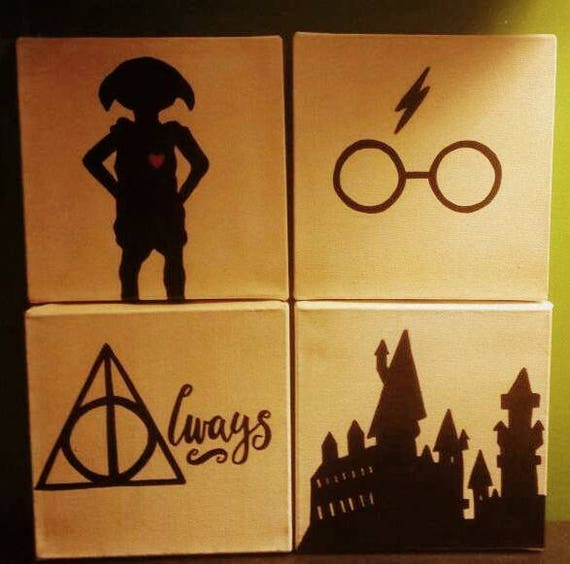 Harry Potter inspired minimalist hand painted | Animali