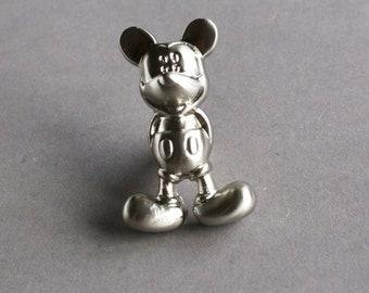 Mickey-Dresser Pulls Children Drawer Pull Handles Knob Brushed Silver Kitchen Cabinet Handle Knobs Furniture Door Hardware Shabby Chic Decor