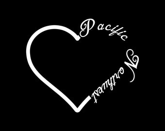 "Pacific Northwest Decal 5""x6"""
