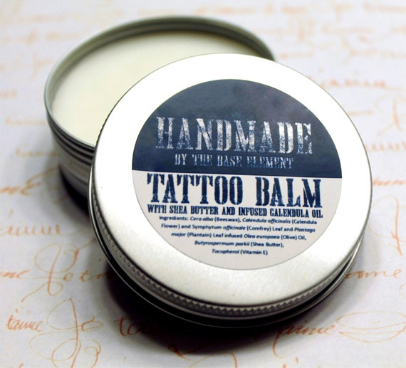 Tattoo Balm Handmade Calming And Soothing With Cocoa Butter Etsy
