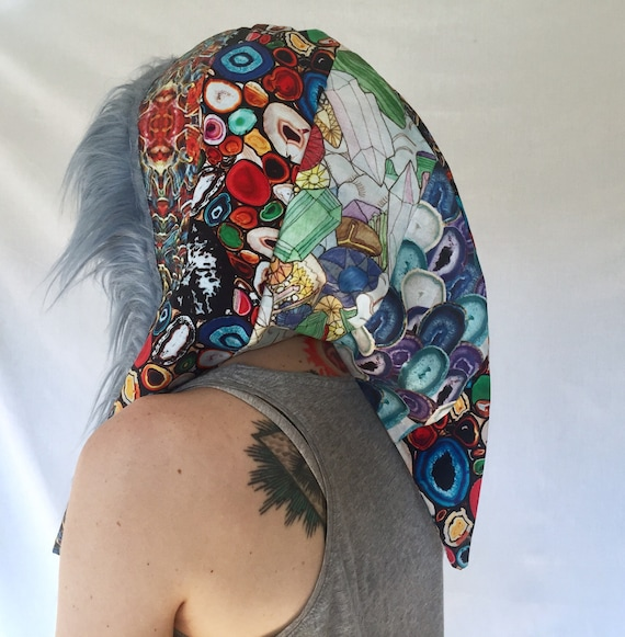 Forest Guardians Patchwork Party Hood