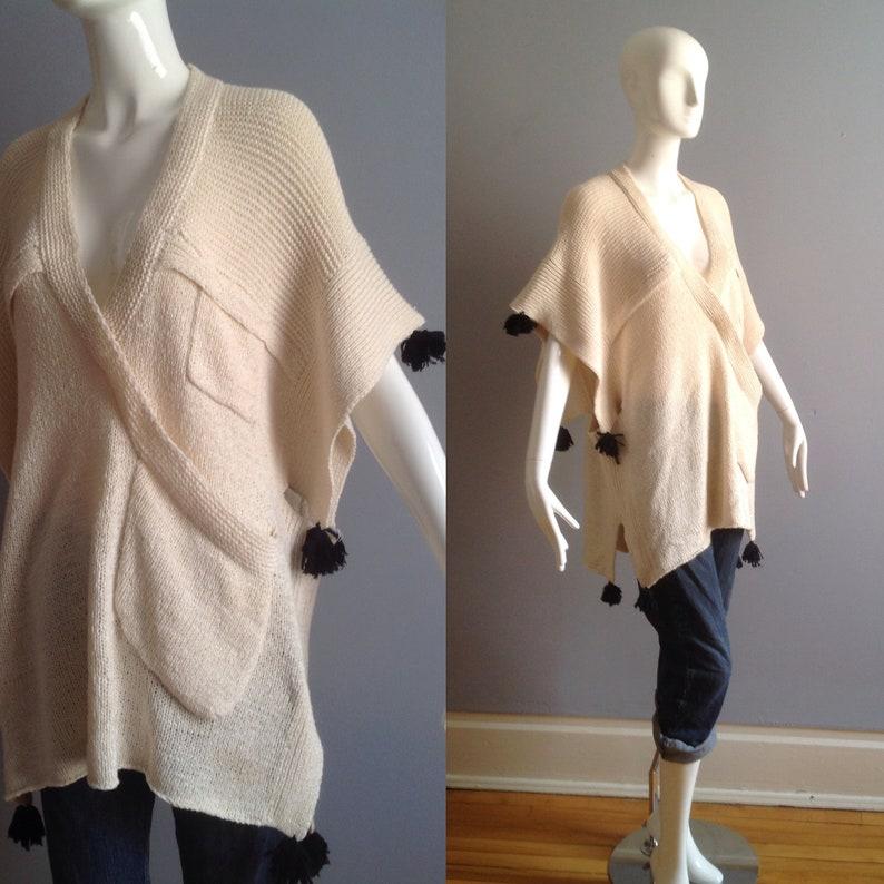 Vintage Modern Bohemian Sweater by Malene Birger Boho Hippie  45a06998c