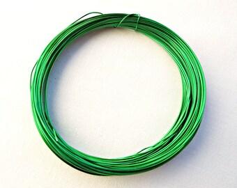 Green Wire   Green Colored Copper Wire Etsy