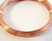 0.8mm Square Wire, Copper Jewelry Wire, 20 Gauge Wire, 6 Metres, Wire Wrapping, Craft Wire, Jewelry Supplies, Wire Coil