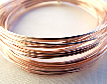20 gauge copper wire non tarnish 08mm copper wire 6 metres rose gold wire square wire 20 gauge wire colored copper wire 08mm wire wire wrapping jewelry wire craft wire wire coil uk seller keyboard keysfo Image collections