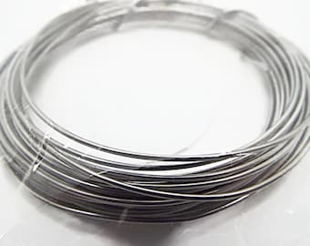 1.5mm Aluminum Wire Black Wire Jewelry Making and Sculpting Black Art Wire Pendant Wrapping UK Wire Supply 3 Metres Hair Crafts