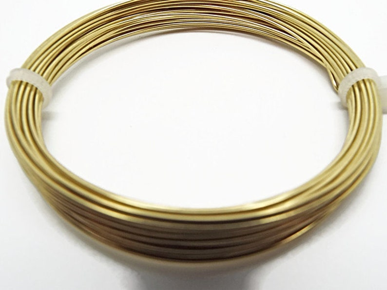 Jewelry Wire Brass Craft Wire Wire Wrapping 0.8mm Brass Wire 20 Gauge 6 Metres Non Tarnish Mixed Media Wire UK Wire Supply