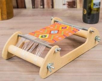 Bead Loom Kit, Extra Wide, Wooden Loom, DIY Bead Kit, Make Jewelry, Bead Weaving, Includes Beads, Thread, Needles, UK Seller
