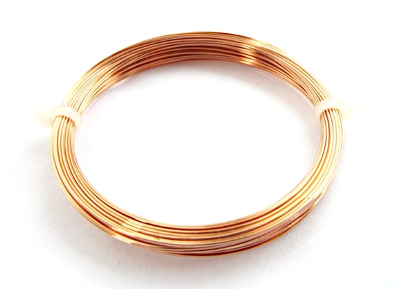 22 gauge 0.6 mm 10 metres REAL GOLD PLATED CRAFT//JEWELLERY WIRE