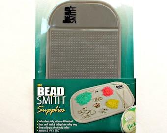 Sticky Bead Mat, Beading Mat, Beading Supplies, No Spill Beads, Travel Beading Tool, Small Sticky Mat, BeadSmith Bead Mat, UK Supplies