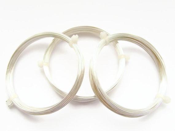 Coil Solid Nickel Silver Wire 18 Ga Nickel Silver Wire Round Soft 1 Oz 14 Ft