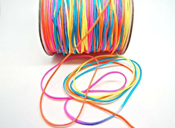 Various Colours Available 1mm Thickness 5m Jewellery Making Cord Nylon