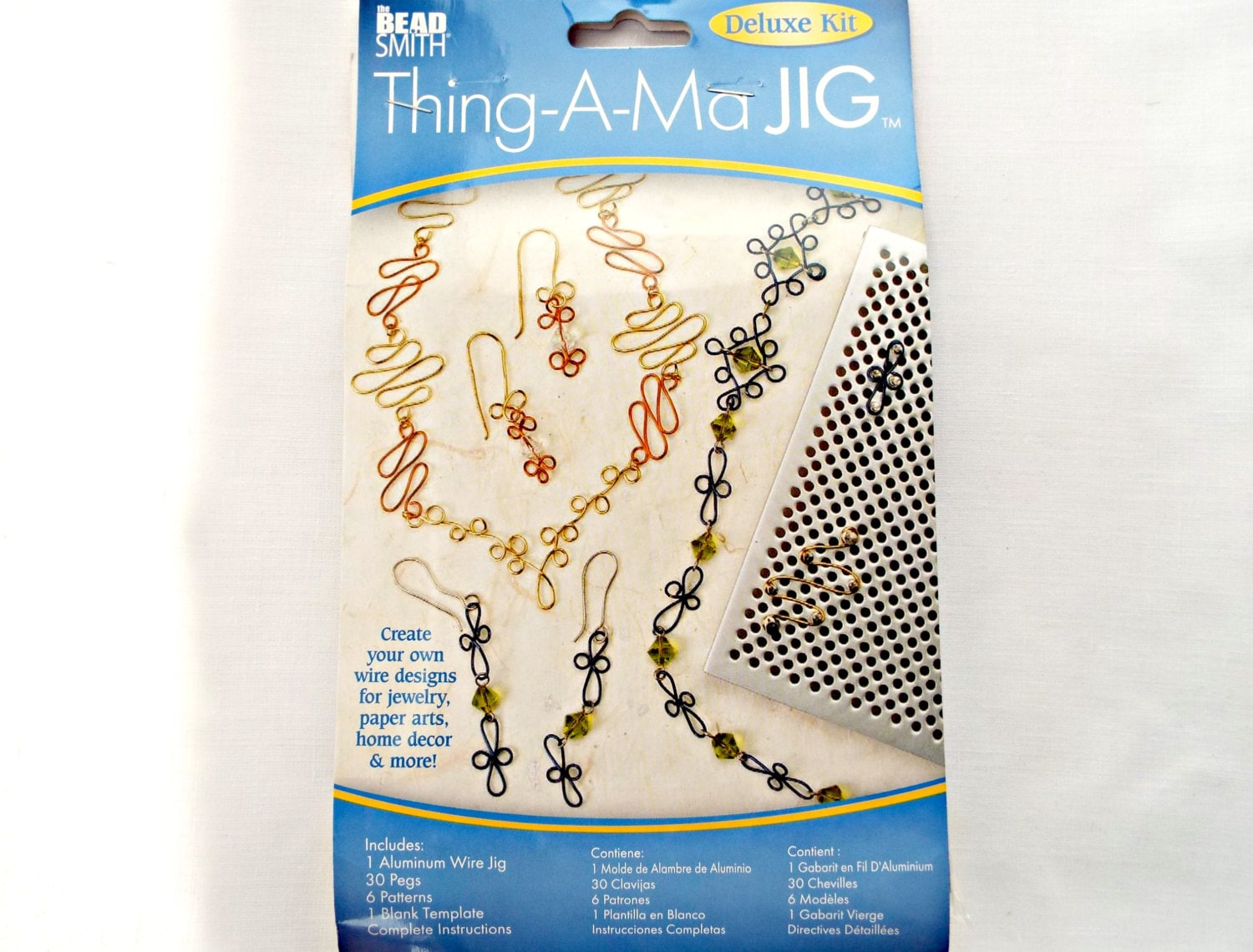 Metal Wire Jig Thing a Ma Jig Deluxe Wire Jewelry Tool Wire
