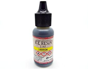 Ice Resin Tint, Yarrow Tint, Resin Dye, Yellow Resin Color, Yellow Yarrow, Resin Jewelry, Ranger Ice Resin, Susan Lenart Kazmer, UK Shop