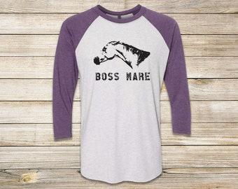 The Boss Mare Unisex Baseball Tee