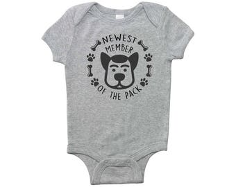 Newest Member of the Pack Infant Bodysuit