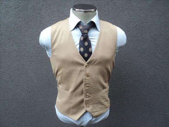 Mens Vest / Mens Waistcoat Size 40 Medium Med M /