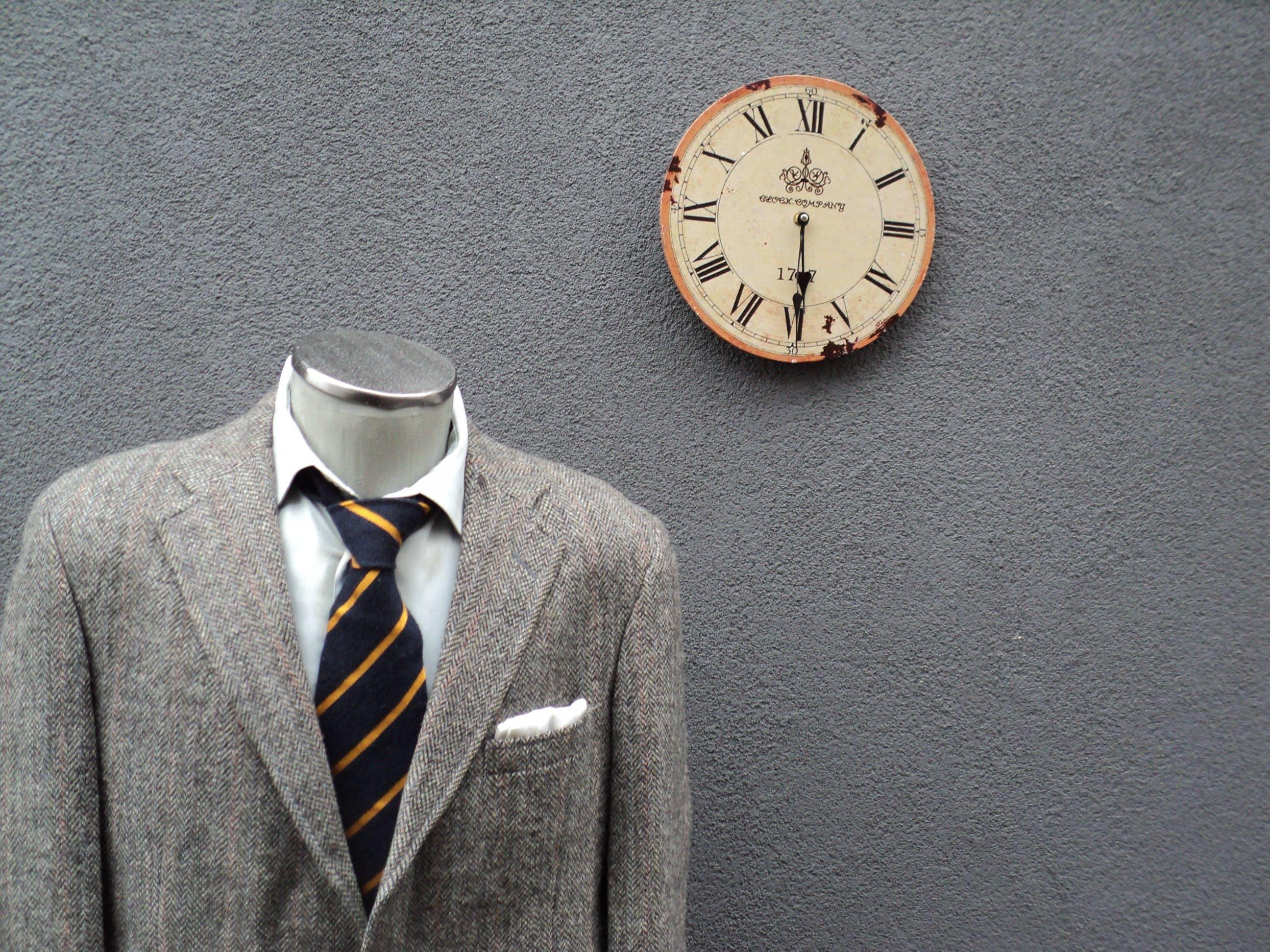 Harris Tweed /à Chevrons Walker /& Hawkes Veston Classique pour Homme