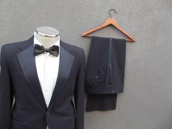 1960s Vintage GIVENCHY Two Piece Wedding Tuxedo, 2