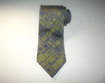 Vintage CHARVET Tie / Charvet Neck Tie / 100% Silk Tie / Charvet Narrow Tie / Slim tie / High End Fashion / Gift for Him / Made in France