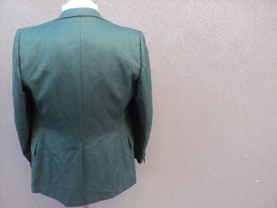 1970s Custom Made Two Piece Suit / Mens 2 Piece G… - image 7