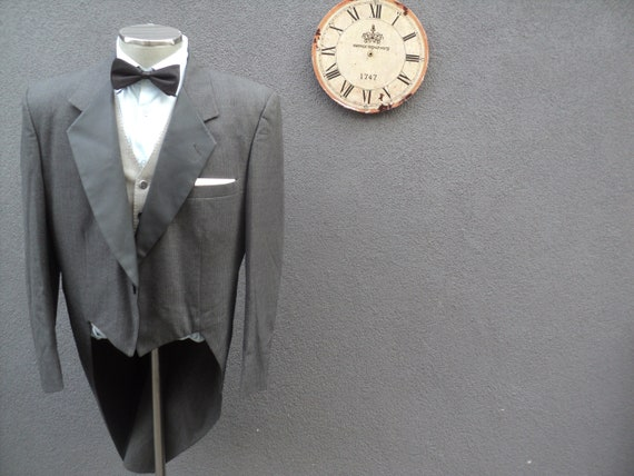 Vintage PIERRE CARDIN Tuxedo Tailcoat Jacket, Cuta