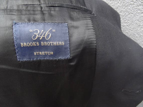 46 Brooks t Brooks 46 Brothers costume / Brooks Brothers Mens deux pièce costume 46 XL / Mens costume haut 46 / doublure Bemberg Long / Full 46 / dbbd54