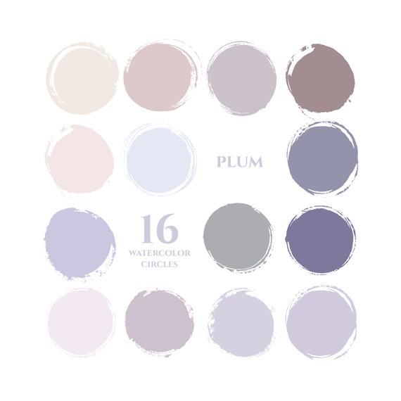 Purple Instagram Story Highlight Icons Pastel Blue Plum Pink Etsy