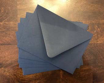 A7 5x7 Matte Navy Blue Wedding Invitation Envelopes