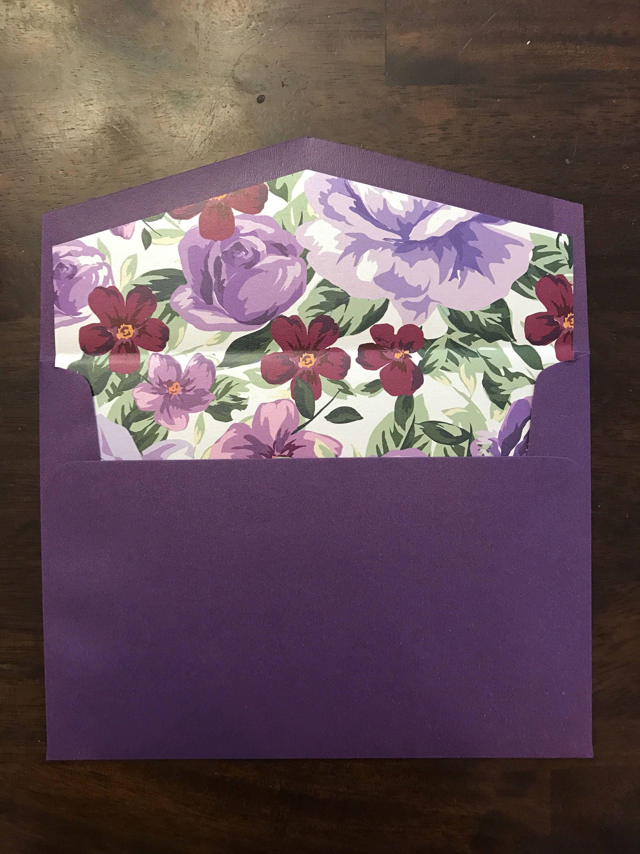 5x7 a7 metallic shiny wedding invitation envelopes choose color