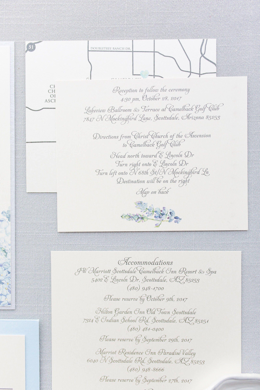 CUSTOM ORDER Formal Elegant Grey Silver Light Blue Hydrangea Wedding ...