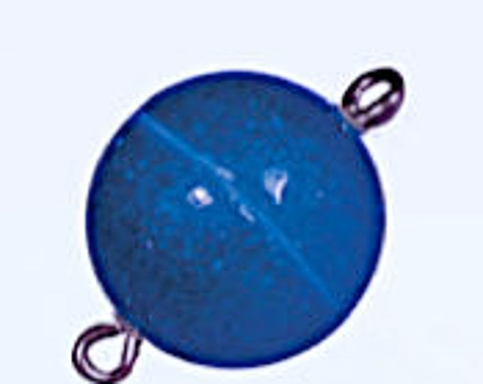 Glitter Magnetic Clasps, 10mm, in Four Colors - Blue, Silver, Red, and Green