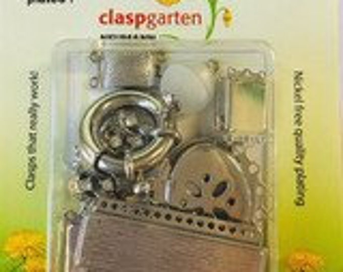 Grab Bag - 10 Clasps per Package in Gold or Rhodium Finish