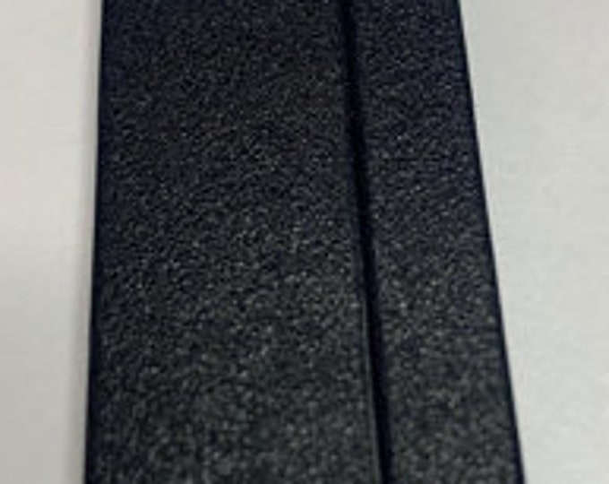 Our Widest Black Magnetic Glue-In Clasps for Leather or Kumihimo, 25x53mm, 50mm opening