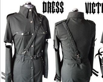 Cotton military dress