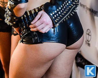 Faux leather sexy Shorts