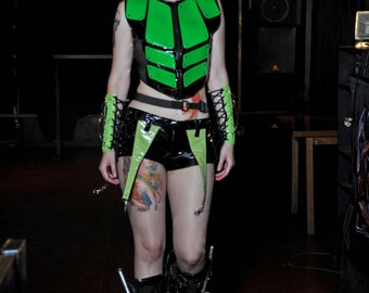 Cyber Goth Female Vest