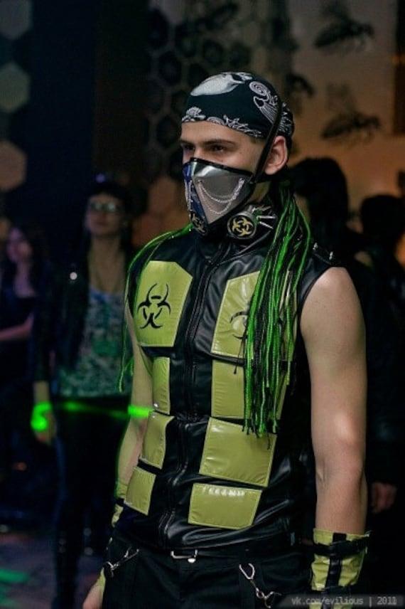 Cyber Goth Vest