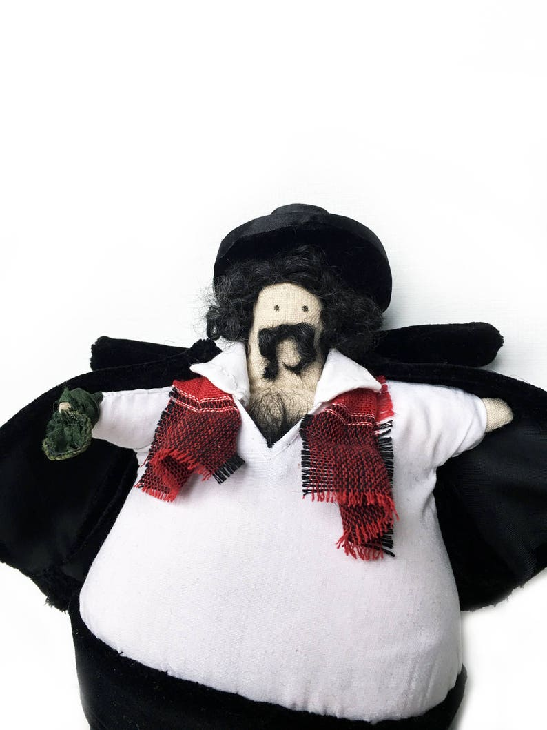 Handmade Dash Naser doll