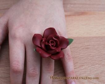 Rose Garden Statement Ring