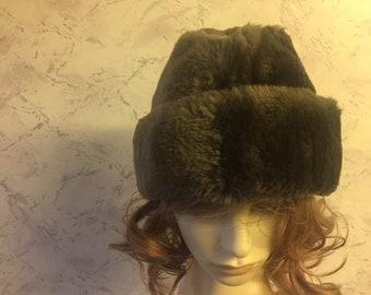 Dunn   Co Authentic Vintage Faux Fur Gents Hat cb5a57fb0f1d